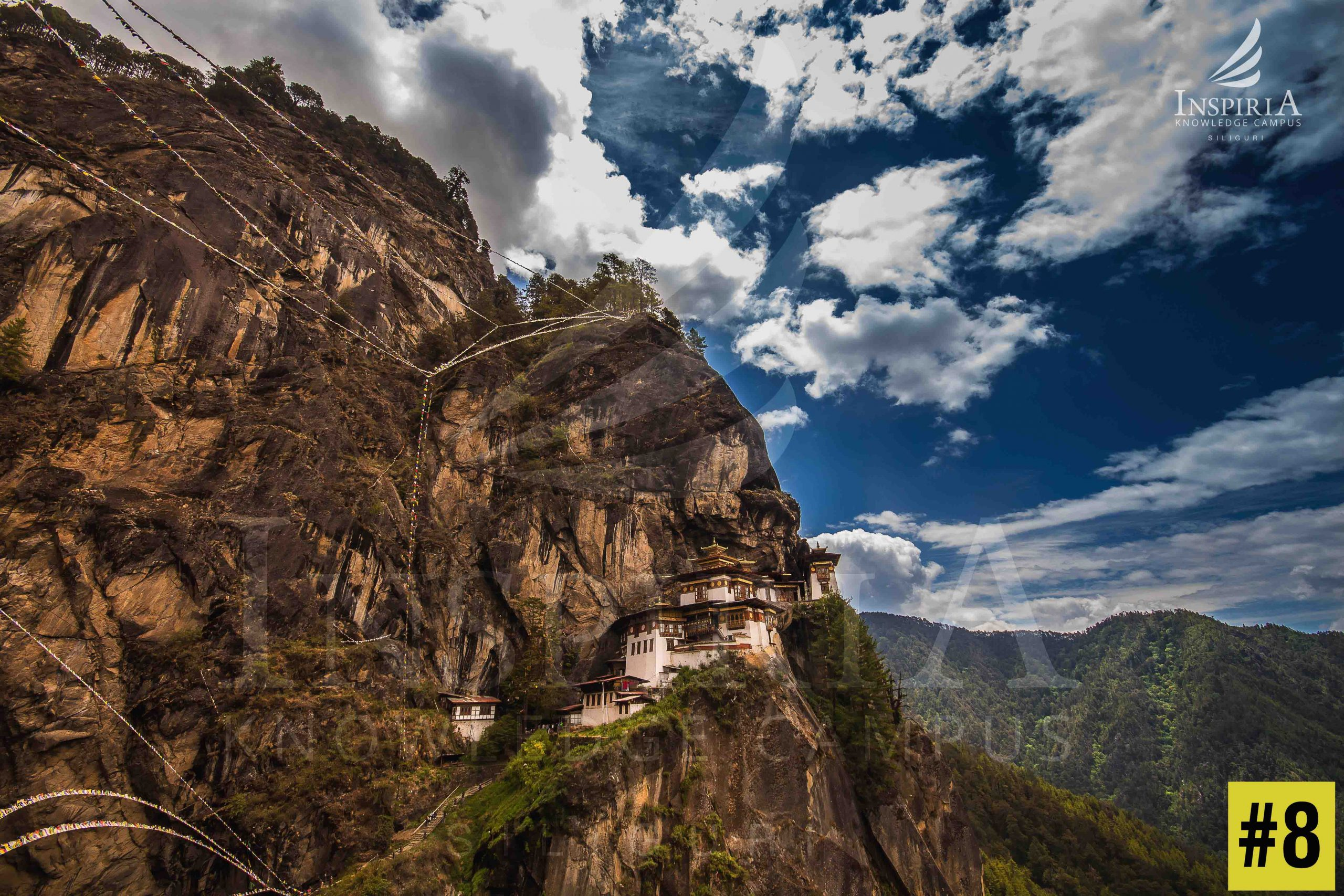 Paro Taktsang Monestary Tigers Nest Amazing View Bhutan