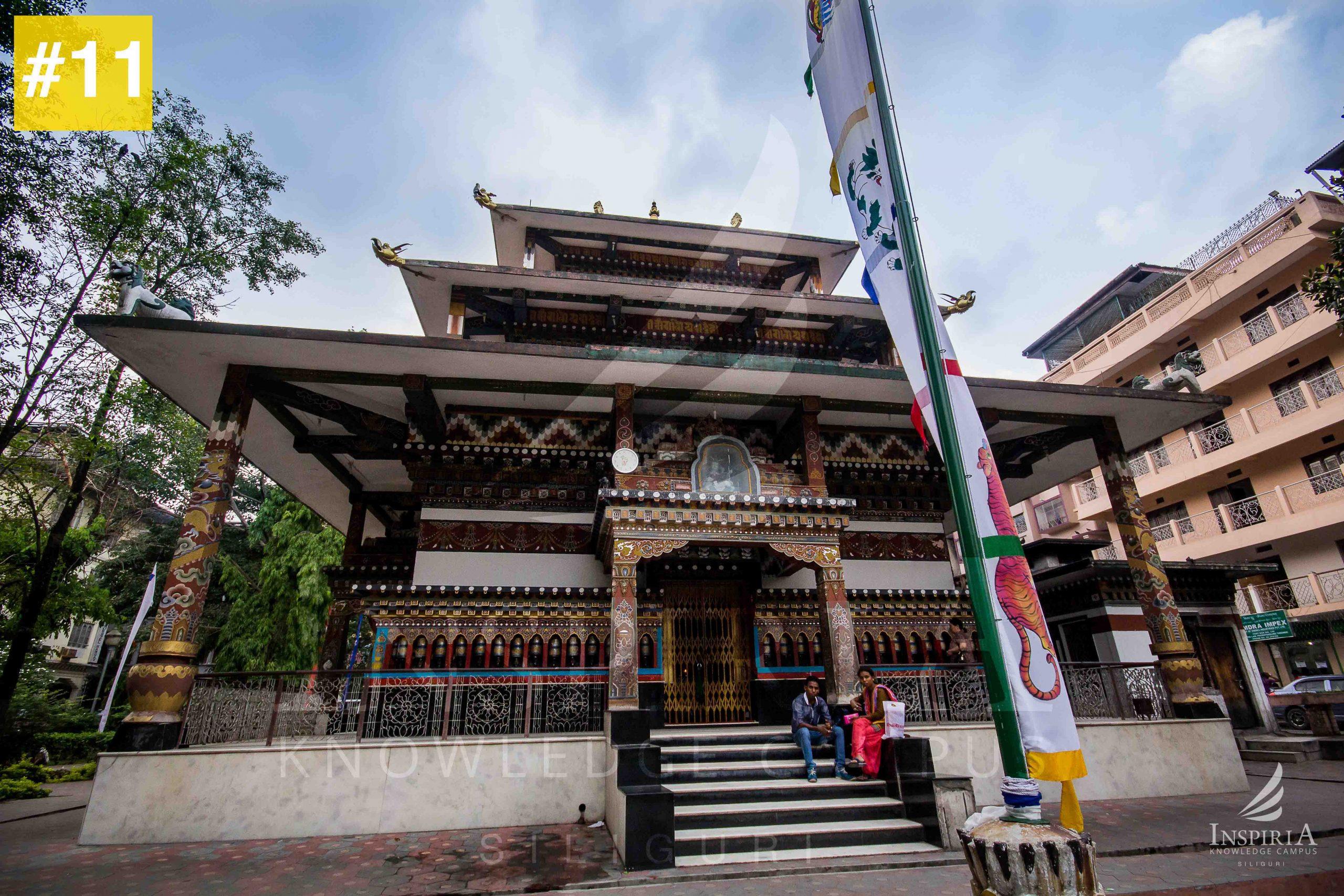 front view Zangtho Perli Lakhang Phuentsholing Bhutan