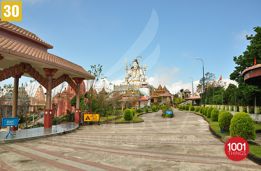 Char-Dham-Namchi sikkim-sideview