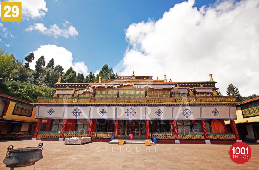 Rumtek-Monastery-sikkim front-view-