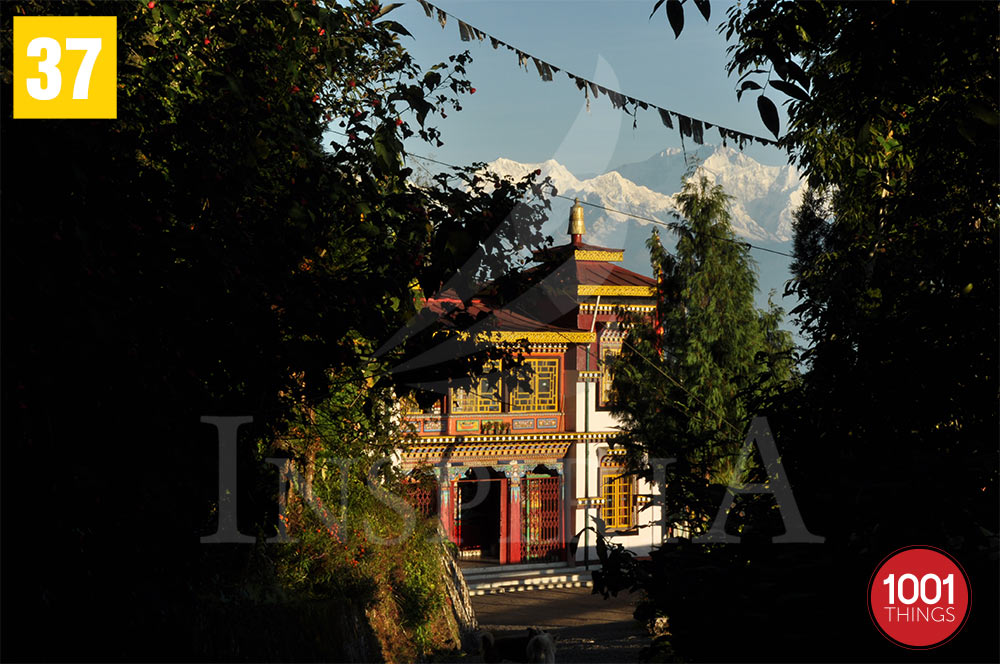 Bhutia Busty Gompa Entrance, Darjeeling