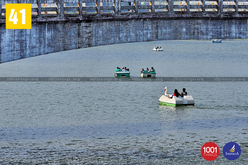 Boating at Mirik Lake, Darjeeling