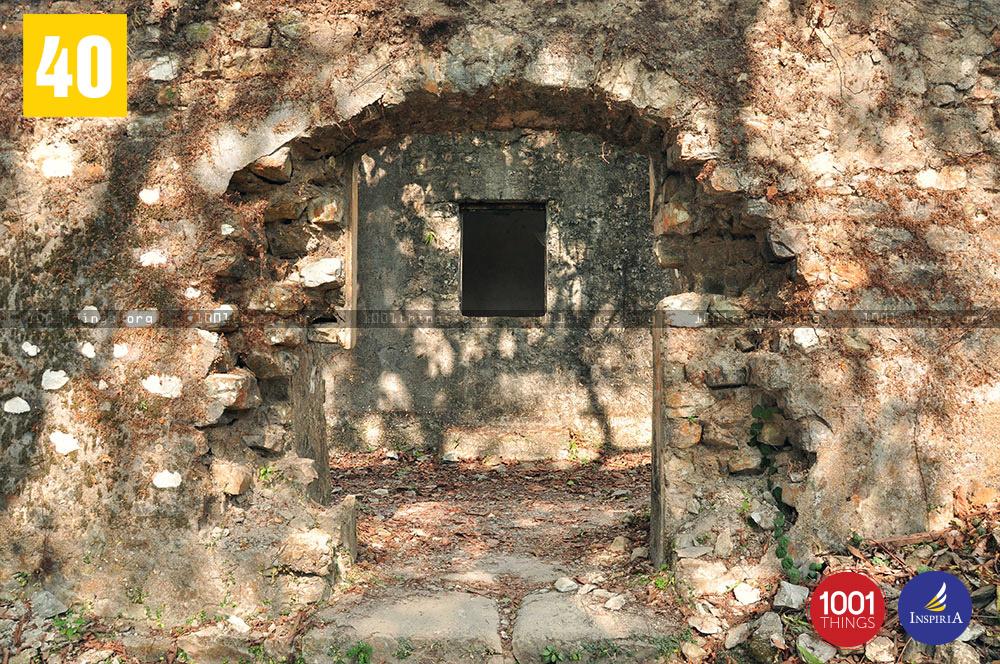 Buxa Fort in Dooars, West Bengal.
