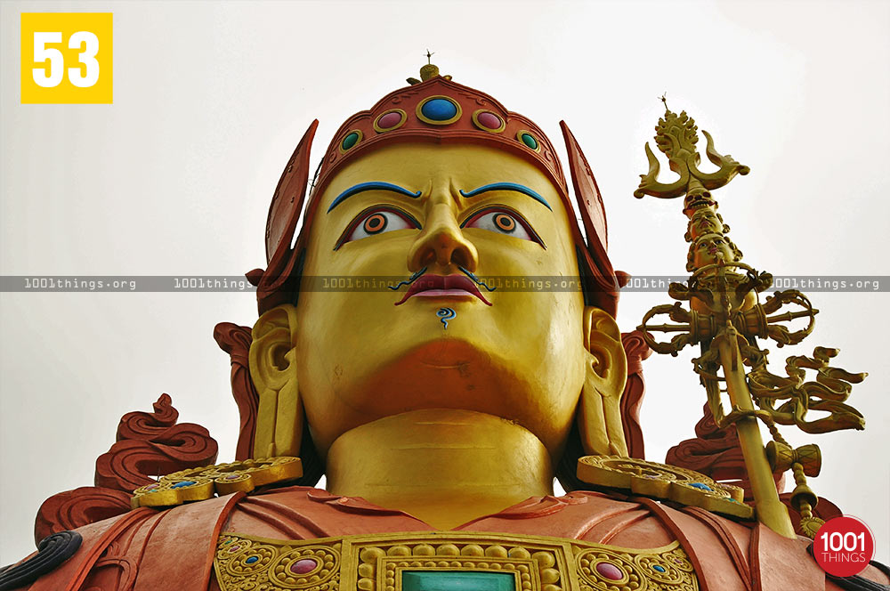 Close up face shot, Samdrupste, Namchi, Sikkim
