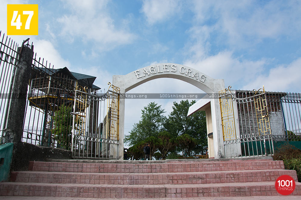 Eagle's Crag Entry, Kurseong