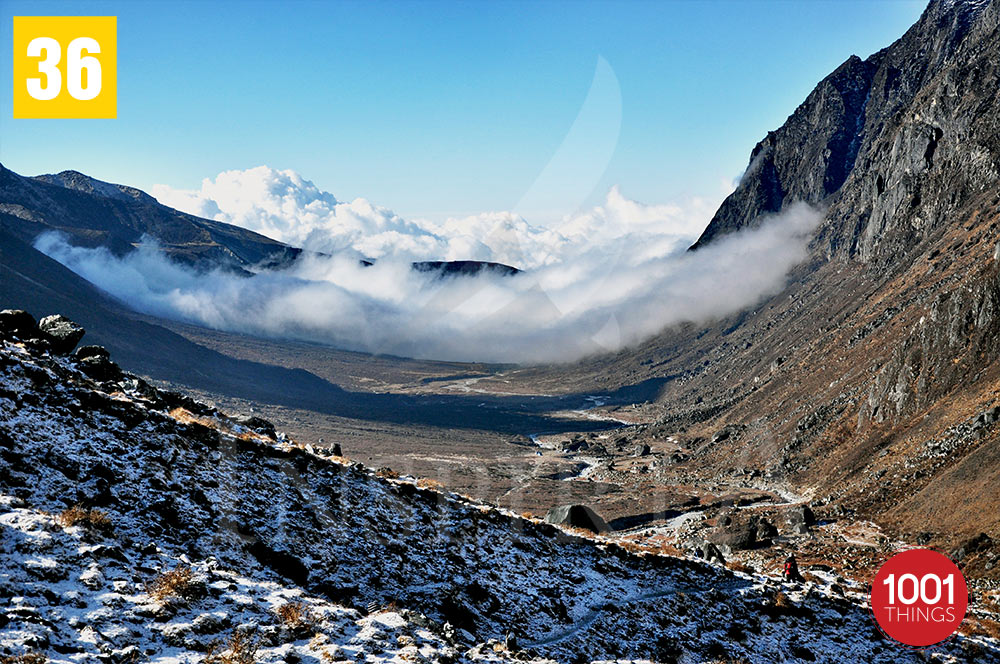 Floating Clouds at Lamuney , Sikkim