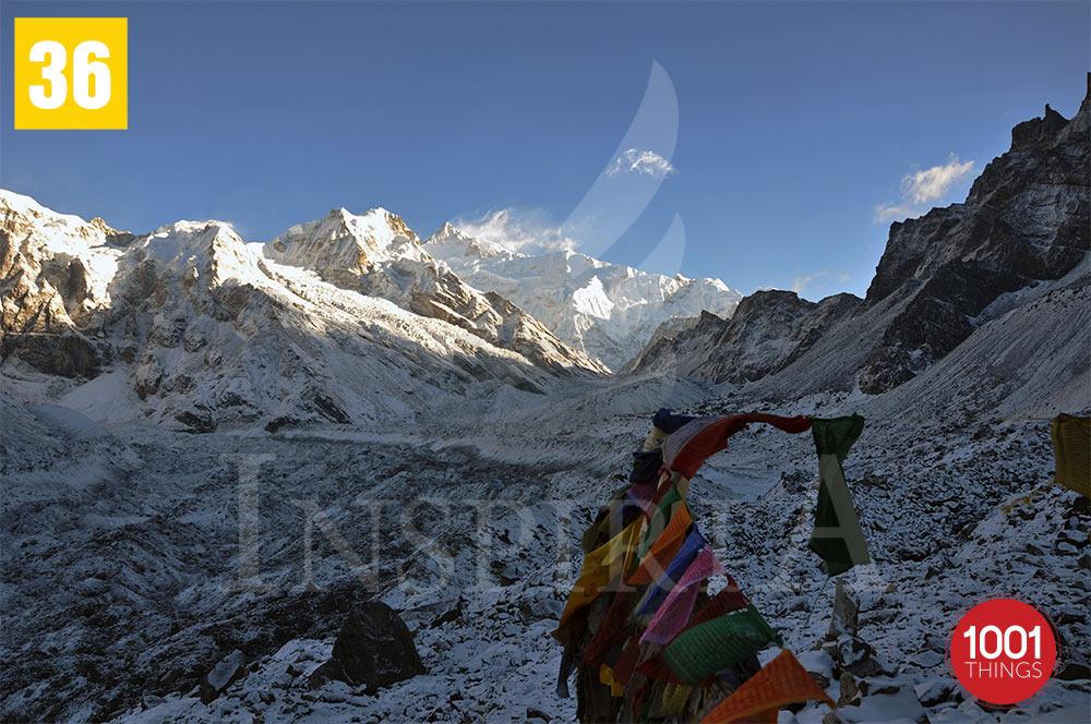 Goechala 1st View , Sikkim