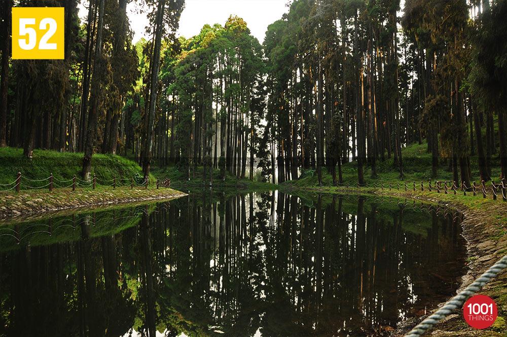 Lamahatta sacred lake, Darjeeling