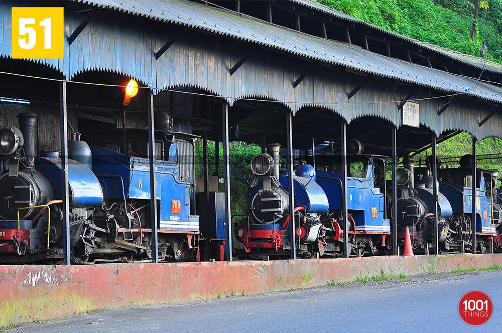 Loco shed, Darjeeling