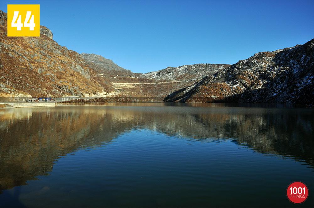 Majestic Reflection at Tsongmo Lake, Sikkim