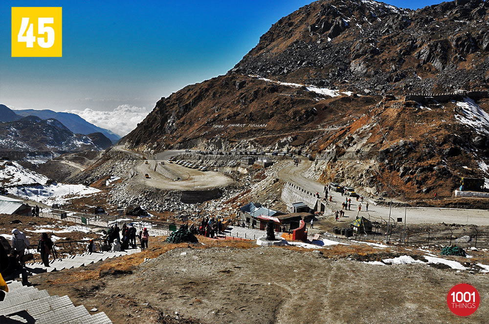 Nathu La Border Wide View, Sikkim