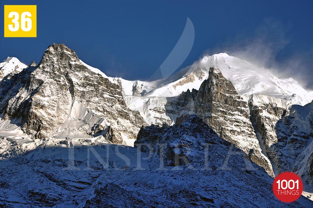 Peaks aroud Goechala , Sikkim