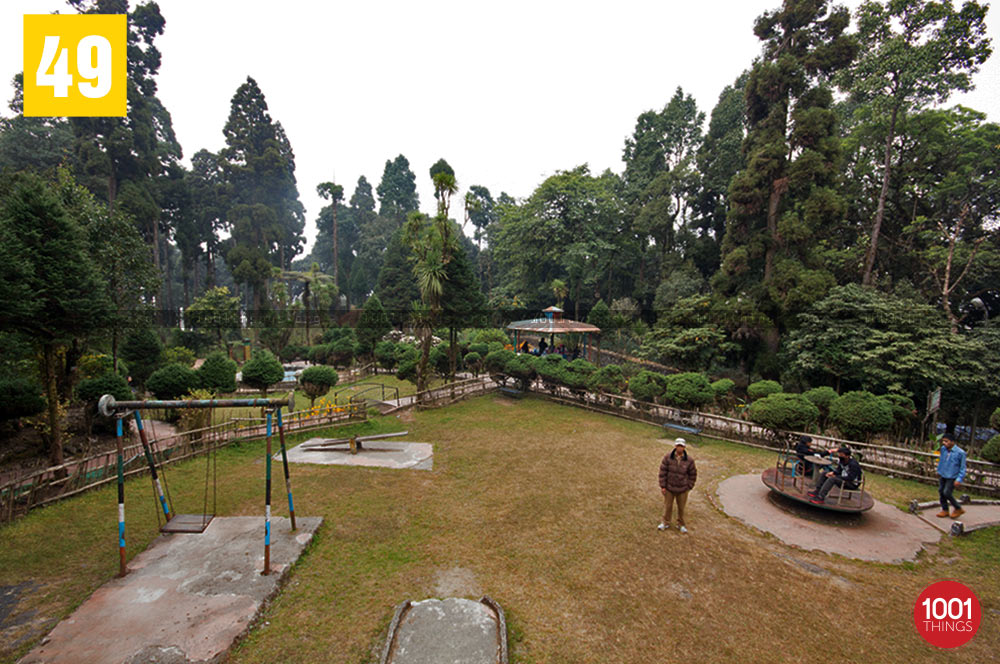 Playground at Deer Park, Kurseong