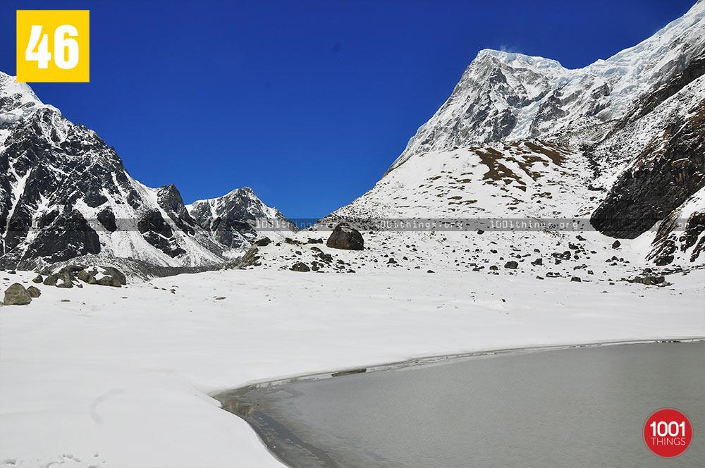 Rathong Peak & Doodhpokhri, Chaurikhang, Sikkim
