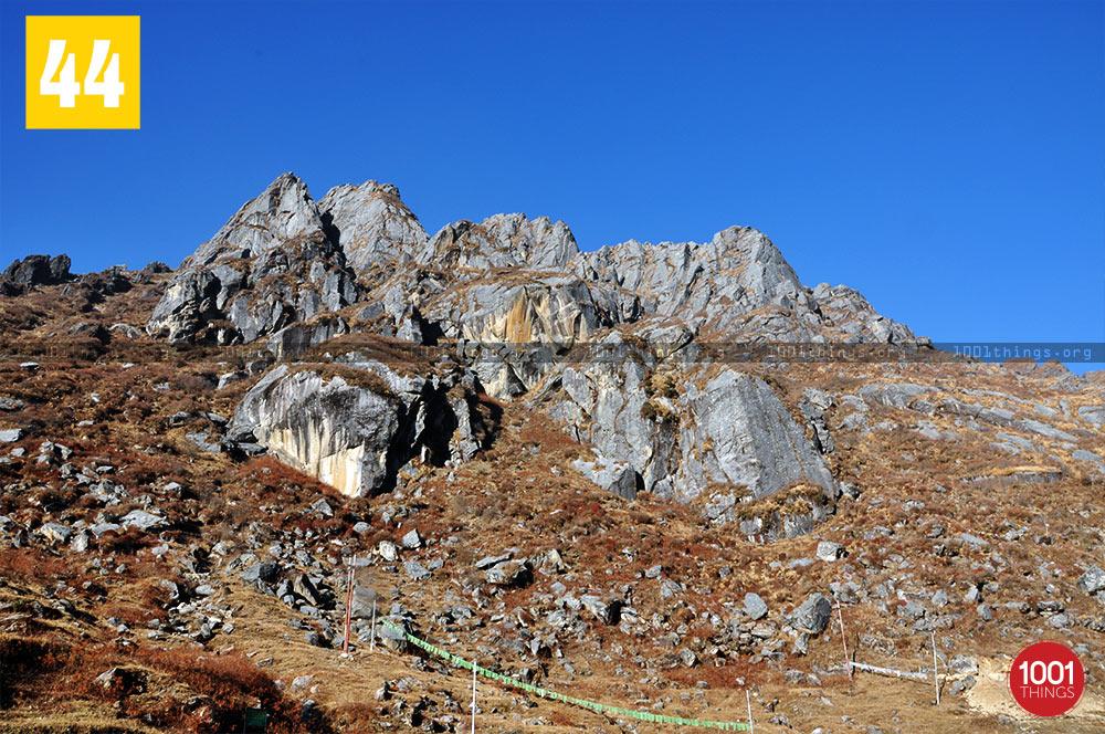 Rocks near Tsongmo Lake, Sikkim