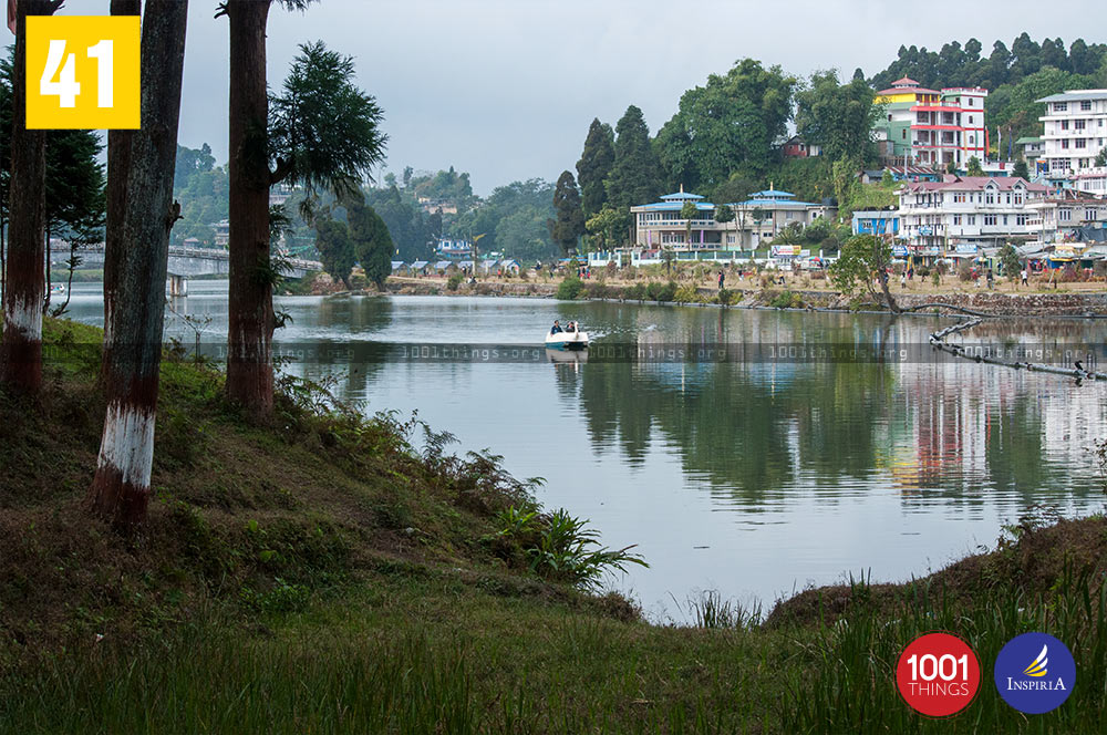 South View at Mirik Lake, Darjeeling