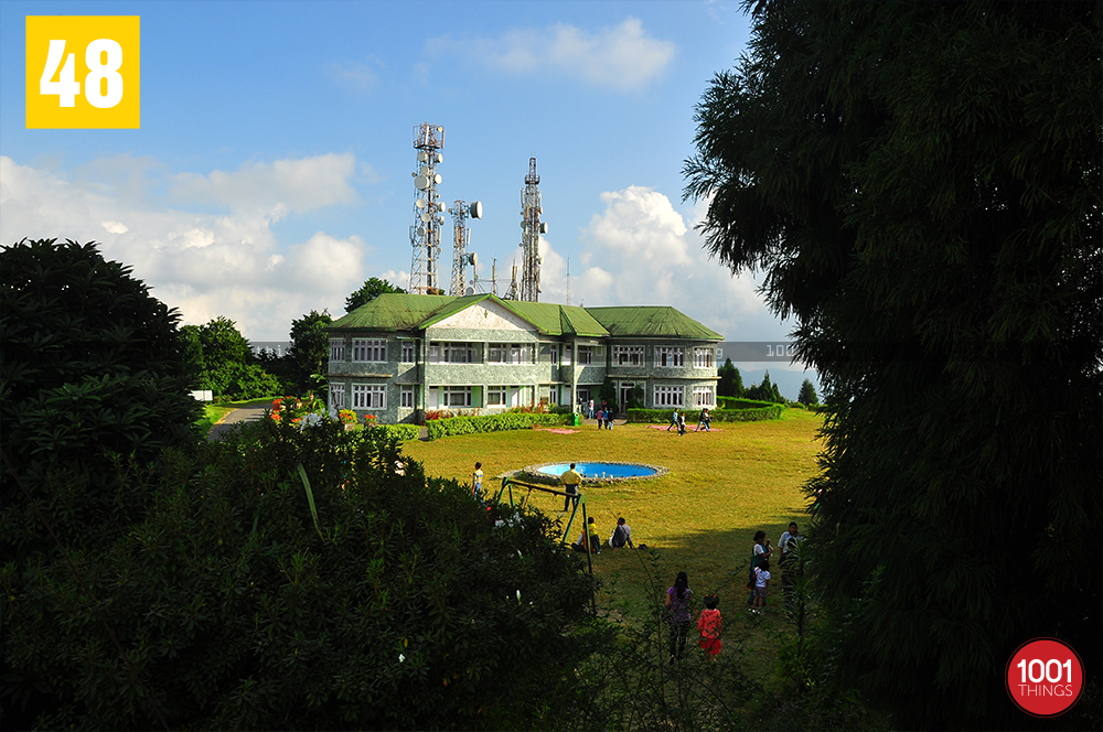 Tourists at Deolo, Kalimpong