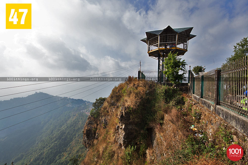 Watch tower at Eagle's Crag, Kurseong