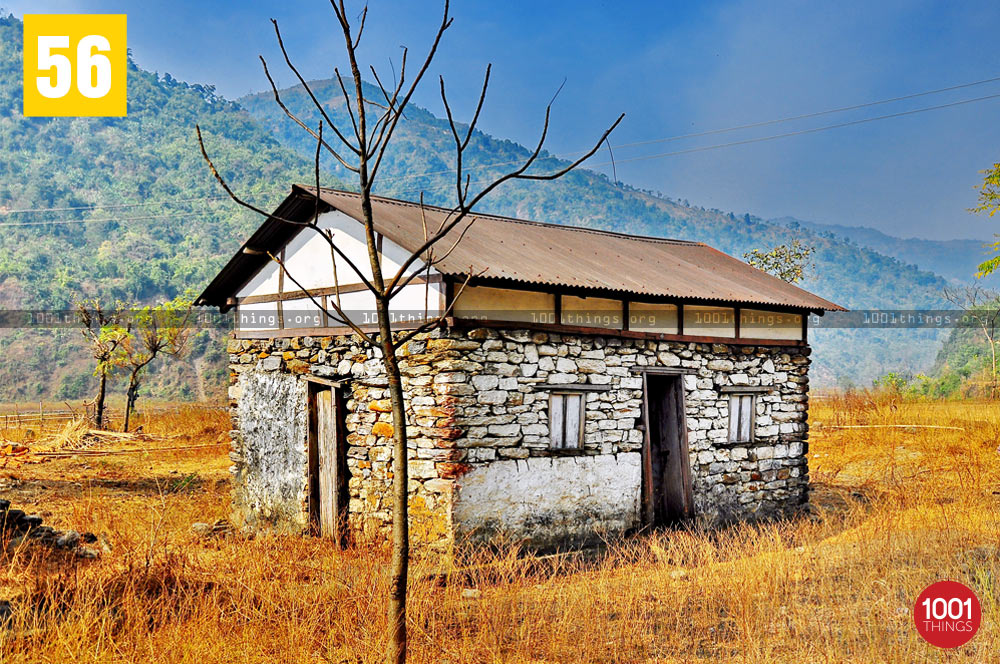 Stone house at Dudhia, Darjeeling
