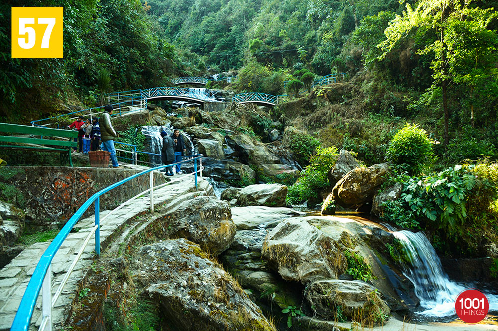 Waterfall at Rock Garden, Darjeeling
