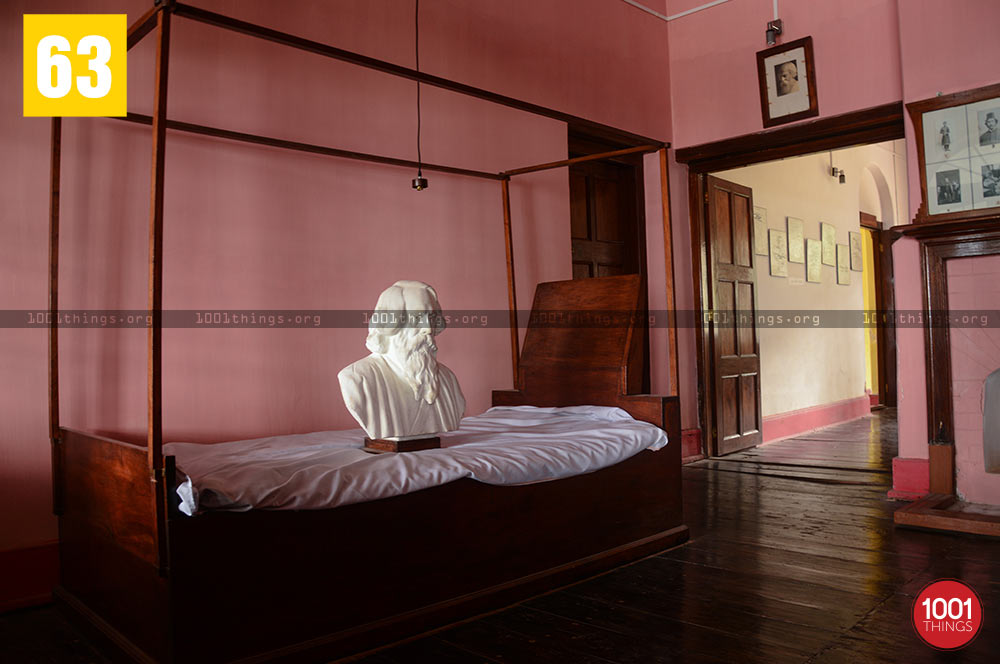 Bedroom of Rabindranath Tagore