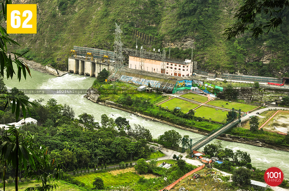 Dam at Teesta River