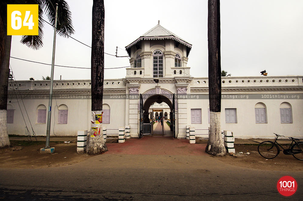Entrance at Madan Mohan Bari, Cooch Behar