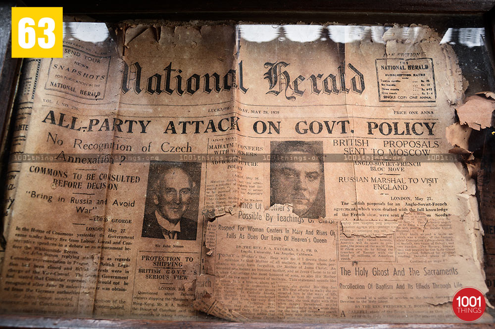 National Herald Newspaper of ancient time