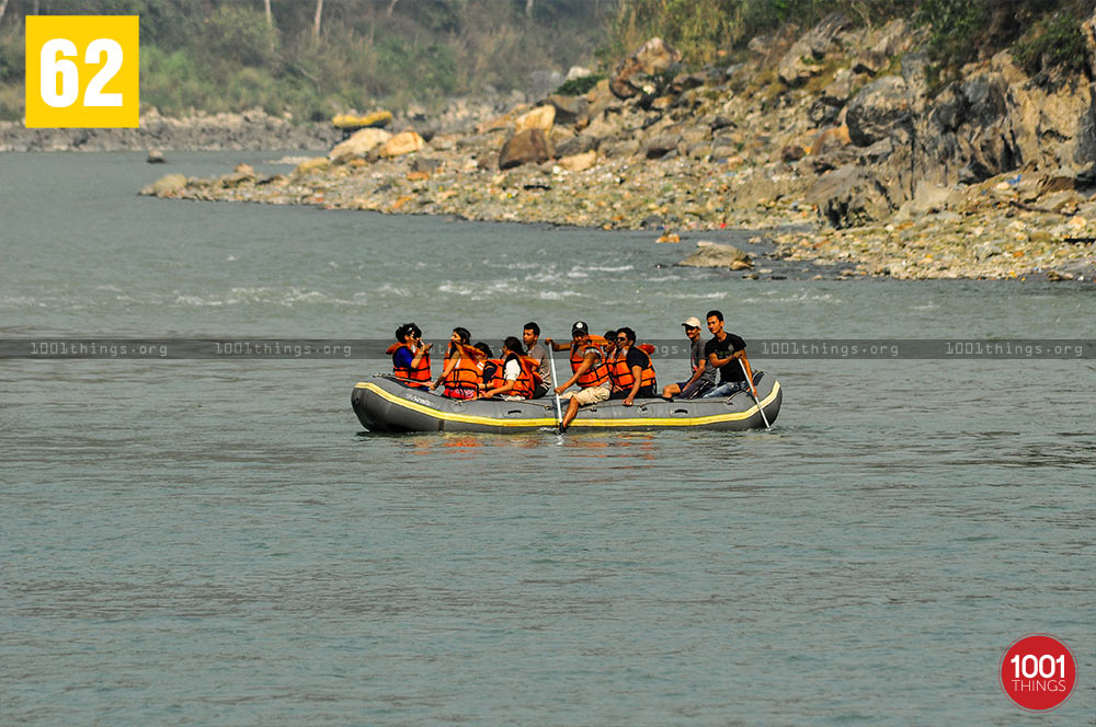 Rafting at Teesta River