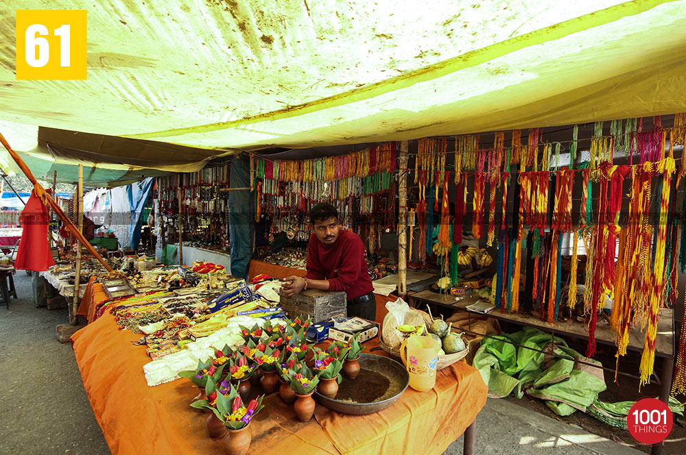 Stalls at Jalpesh Temple, Jalpaiguri