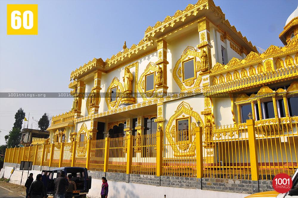 Visitors at Sri Shirdi Sai Baba Mandir, Namchi