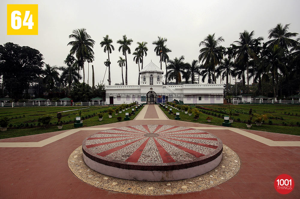 Wide view of Madan Mohan Bari, Cooch Behar