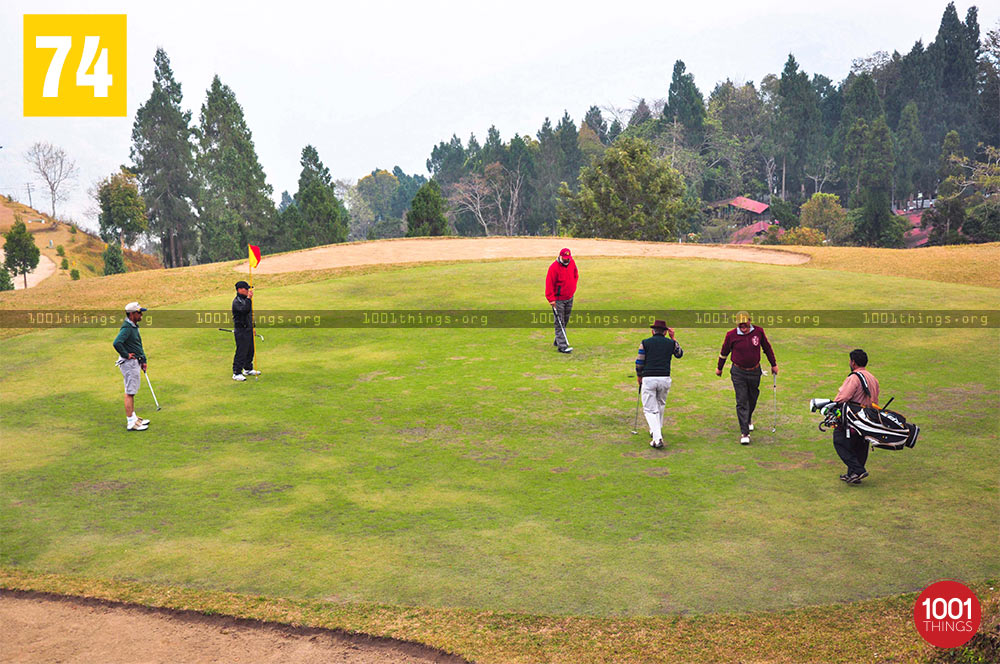 Army Golf Course, Kalimpong