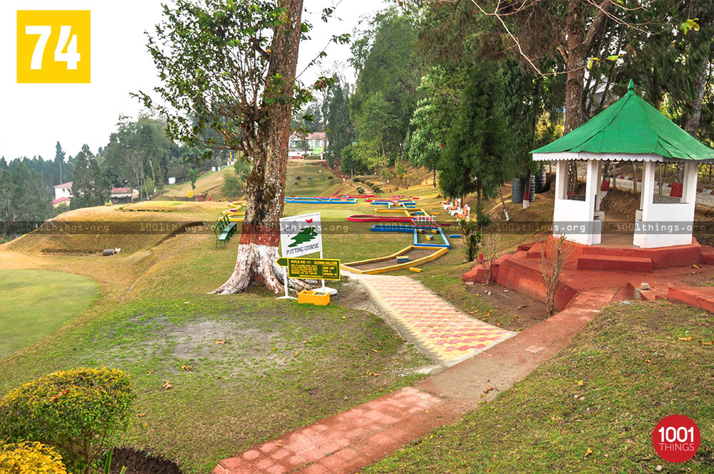 Footpath at Army Golf Course, Kalimpong