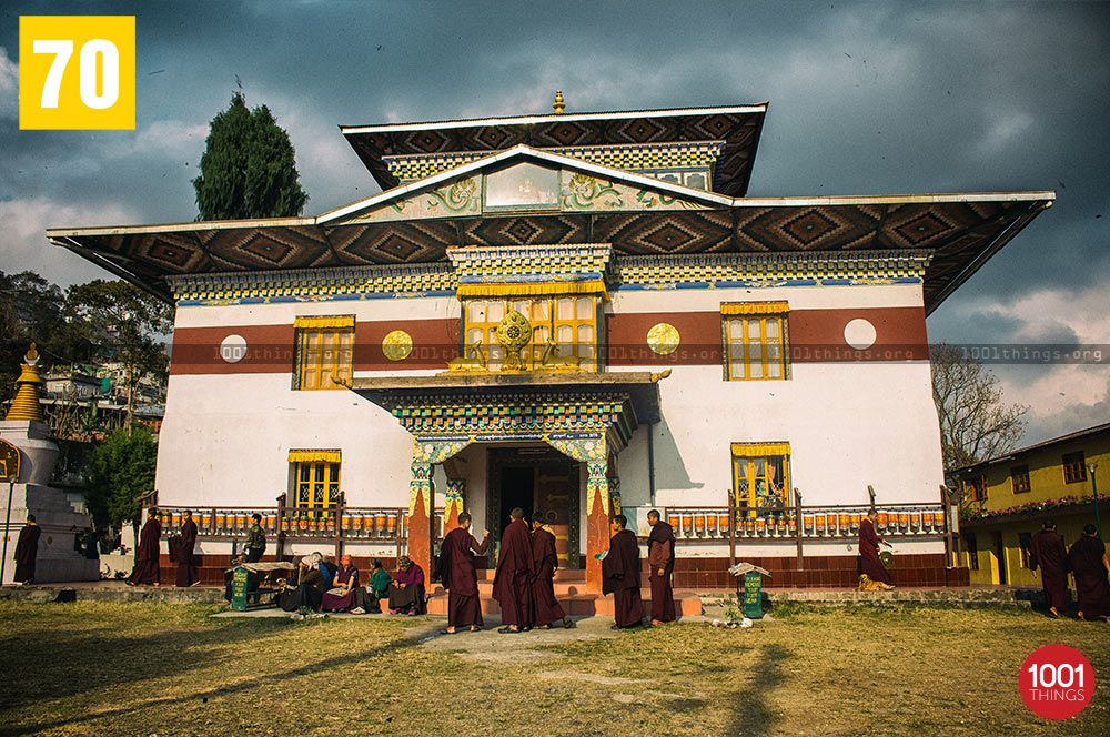 Front View of Tsonga Gumba, Kalimpong