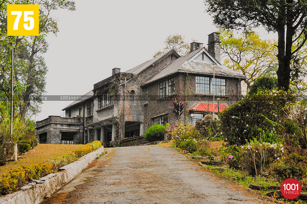 Front view of Morgan House, Kalimpong