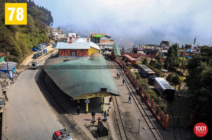 Ghum Railway Station, Darjeeling