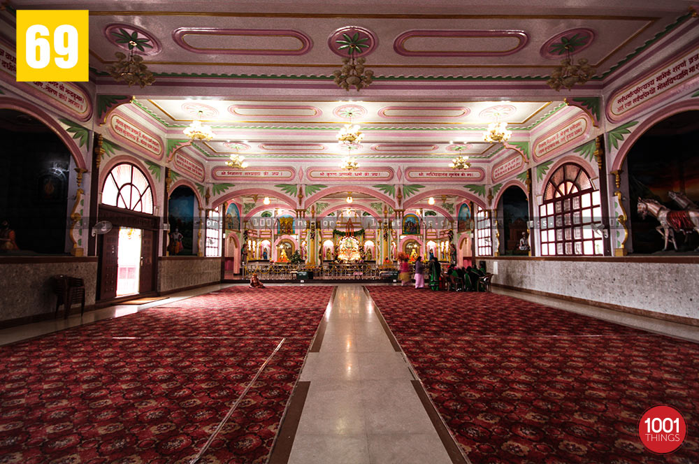 Hall of Mangal Dham, Kalimpong