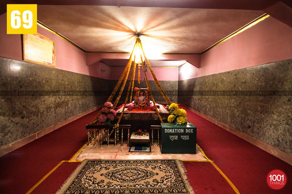 Interiors of Mangal Dham, Kalimpong