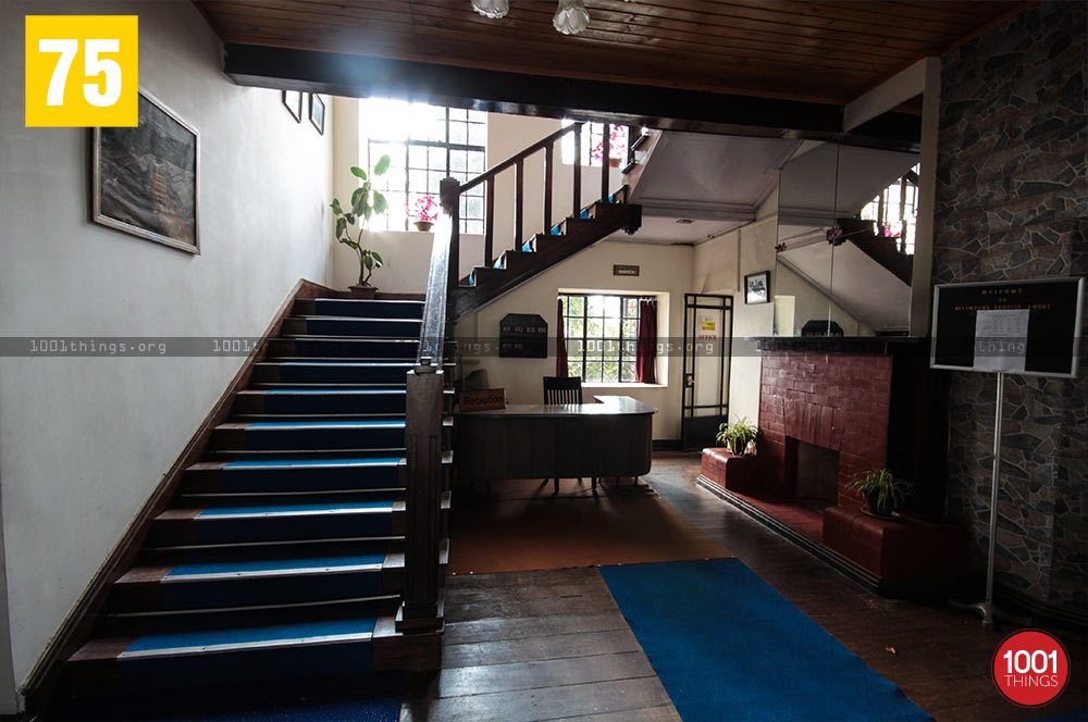 Interiors of Morgan House, Kalimpong