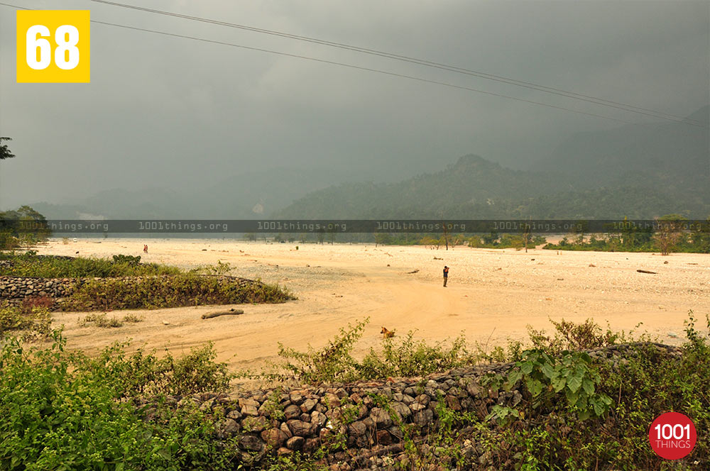Jayanti River-Bhutan Border