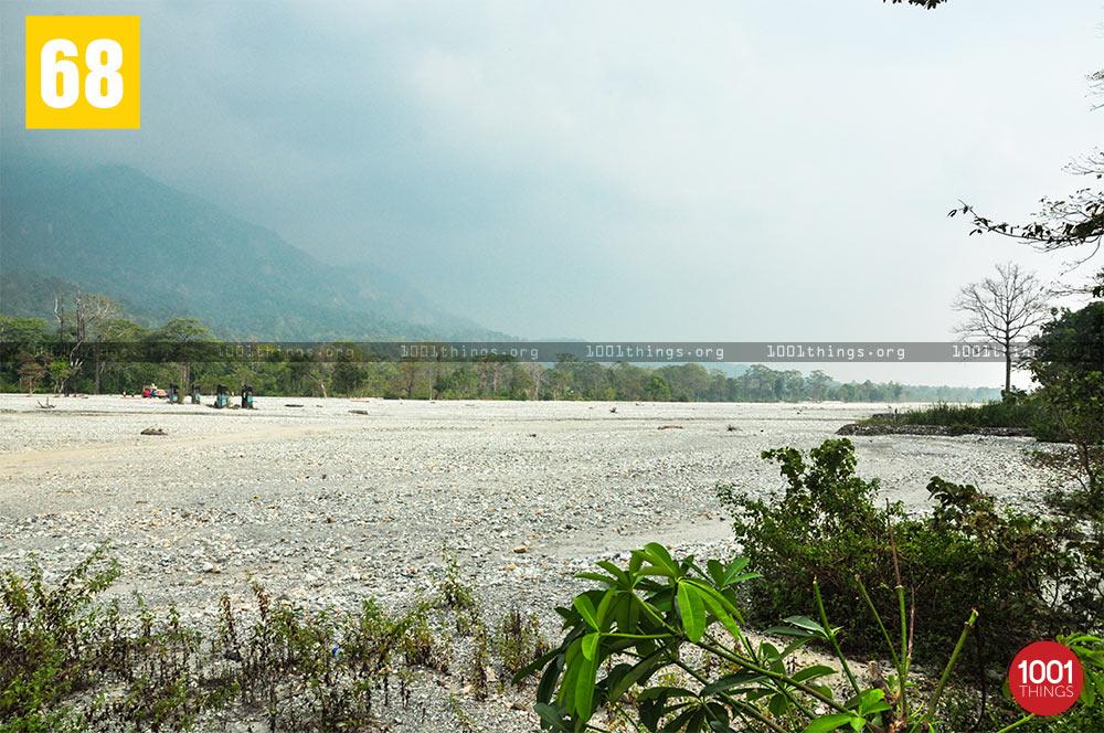 Jayanti River shore