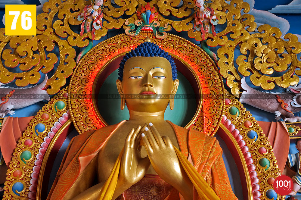Lord Buddha at Lava Monastery, Lava