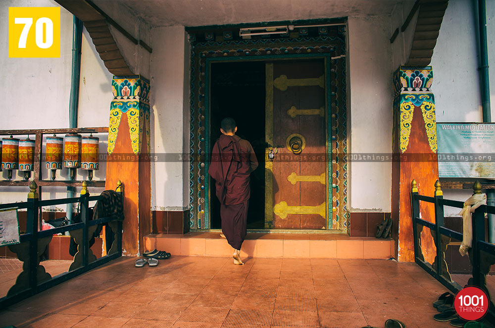 Monk at Tsonga Gumba, Kalimpong