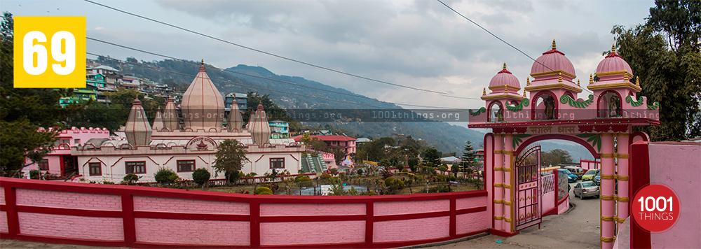 Panorama view of Mangal Dham, Kalimpong