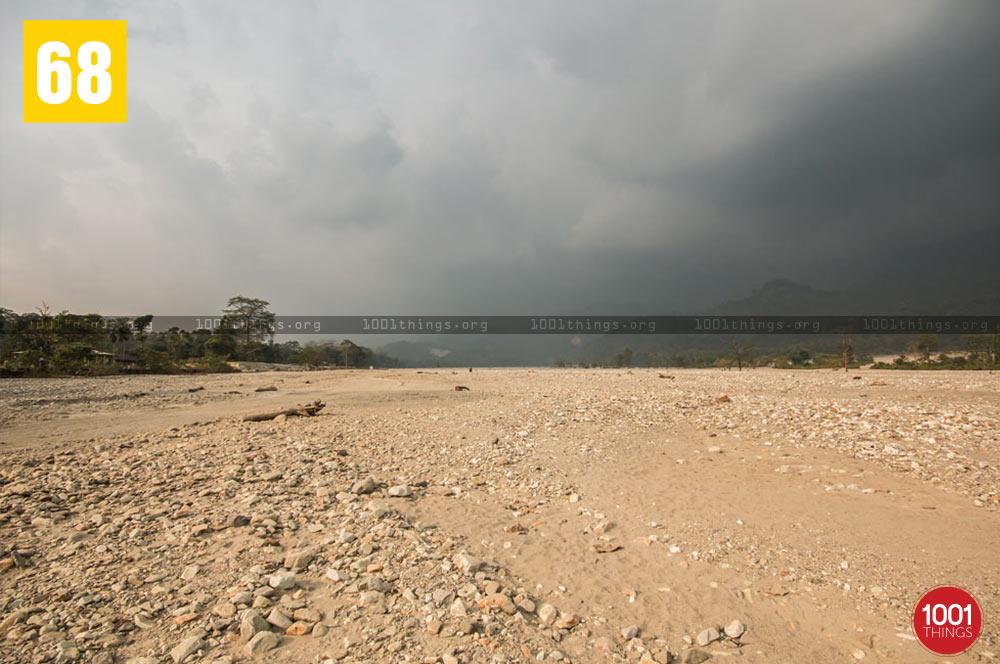 Pebbels of Jayanti River