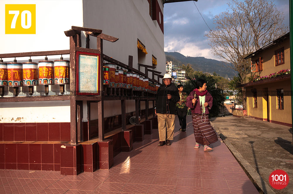 Prayer Wheels at Tsonga Gumba, Kalimpong