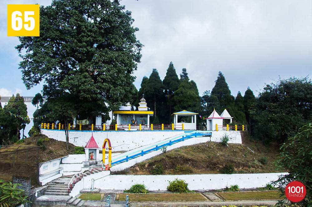 Temple at Jorepokhri, Darjeeling