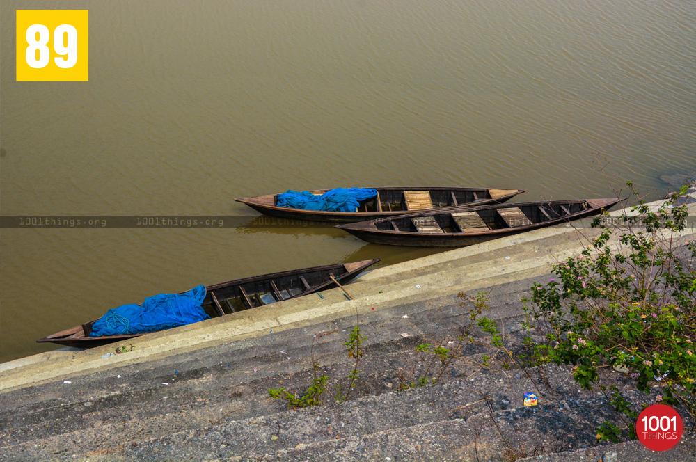 Boats at Gajoldoba
