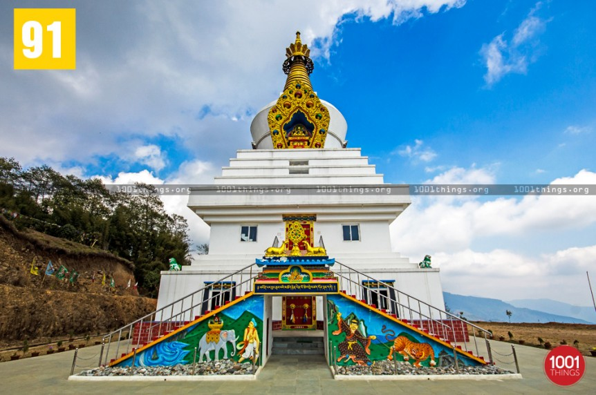 Great Stupa Ugyen Mindrolling Samten, Lava, Kalimpong